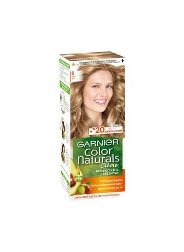 Garnier Garnier Color Naturals Saç Boyası 8 Koyu Sarı Renkli